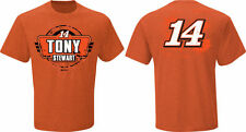 Tony Stewart #14 Nascar Stewart Haas Fan Up Short Sleeve T Shirt NWT'S