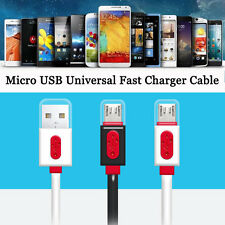 Micro USB Data Sync Fast Charger Cable Charging Cord For Android Samsung Phones