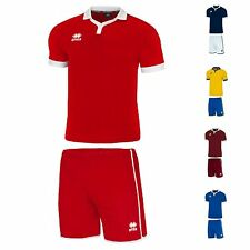 Bulk Team Football Kits x6 Errea Amburgo Any Size YXS-XXL 5 Colours With Socks