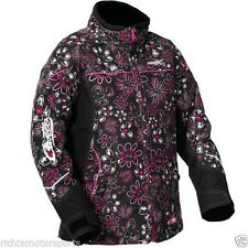 CASTLE X YOUTH GIRLS TWIST WILD MAGENTA WARM SNOWMOBILE JACKET-L-14/16- Closeout