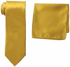 Stacy Adams Mens Neckwear 400S Satin Solid Tie Set One- Choose SZ/Color.