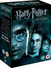 Harry Potter - Complete 8-Film Collection [DVD] New UNSEALED MINOR BOX WEAR