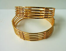 Indian Bollywood Ethnic Gold Plated Wedding Fashion Jewellery Bangles /Bracelet