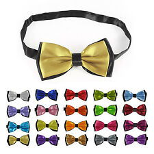 New Fashion Bowknot Design 2 Layers Polyester Adjustable Bow tie HP
