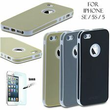 Shockproof Hybrid Rugged Rubber Hard Back Cover Case Skin for Apple iPhone5s SE