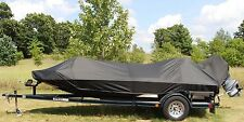 "Carver Sun-DURA Boat Cover 21'6"" Wide Bass Boat O/B MADE IN USA 7YR WNTY"