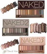 Naked Palette 1 2 3 5 Eye Shadow - 12 Colours Brush Mirror - Fast Delivery