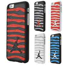 "Ultra-thin Air Jordan Sports Stripe Silicone Case For iPhone 6 4.7"" 6s Plus 5S"