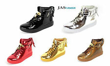 Mens Lace Up Party Trainers Casual Designer Fashion Sneakers Hi Tops Shoes Size