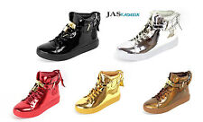 Mens Hi Tops Sneakers Lace Up Party Trainers Casual Designer Fashion Shoes Size