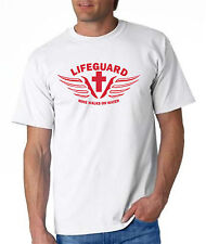 LIFEGUARD Shirt MINE WALKS ON WATER JESUS CHRIST NEW DESIGN CHRISTIAN front