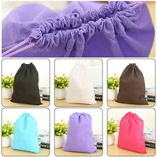Home Laundry Shoe Travel Pouch Tote Drawstring Storage Bag Organizer New