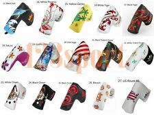 Magnetic Golf Putter Headcover Cover For Taylormade Scotty Cameron Odyssey Ping