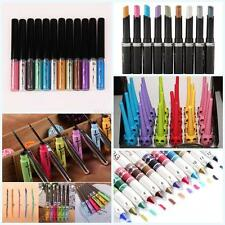 Pro Eye Shadow Lip Liner Shimmer Eyeliner Pen Pencil Beauty Cosmetic Makeup Tool