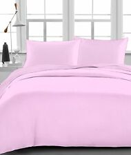 1200 Thread Count Egyptian Cotton 4PC's Sheet Set Pink Solid