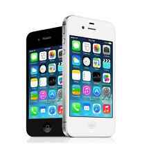 "Original Unlocked Apple iPhone 4S - iOS 8GB 3.5"" Smartphone 3G White/Black WIFI"
