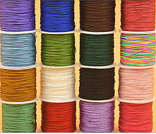 100yd 0.5/1mm Nylon Chinese Knot Cord Rattail Macrame Shamballa Thread String