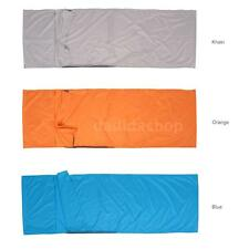 Polyester Pongee Healthy Sleeping Bag Lightweight Hostel Camping 75*210cm S4J0
