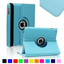 """360 Rotating Stand Leather Smart Cover Case For Apple iPad Mini 1 2 3 Pro 9.7"""""""