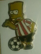 Bart Simpson Sunderland Pin Badge
