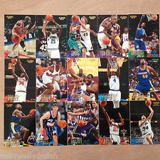 Fleer NBA '96-97 Basketball Trading Cards - Select Your Cards
