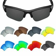 POLARIZED Replacement Lens for-OAKLEY Flak Jacket XLJ Sunglasses Multiple Colors