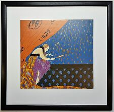 ERTE FALL,1979 FRAMED