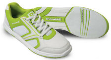 Bowling Shoes Women Brunswick ick Spark white/green for Right and Left-handed
