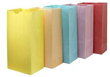 Hygloss 66250 Colored Paper Bags, 50 Pages, Assorted Colors, 6-Inch by 3.5-Inch