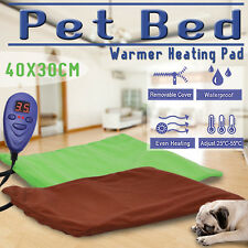 Bite-proof Electric Heated Heat Pet Dog Pad Bed Mat Thermal Protection 40x30cm