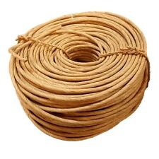 2 Lb Coil of Fibre Rush Kraft Brown 4/32 5/32 6/32 7/32 8/32 New & Fresh, Fiber