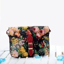 Vintage Fashion Women PU Handbag Shoulder Bag Satchel Messenger Bag Hobo Tote