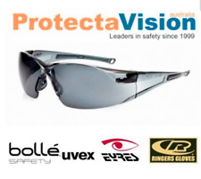 Bolle RUSH Twilight/Smoke/Cleae lens Safety Glasses Sunglasses