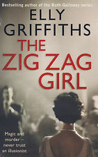 The Zig Zag Girl BRAND NEW BOOK by Elly Griffiths (Paperback, 2014)