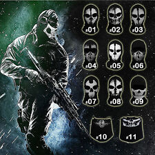 Call of Duty 14 Ghost Balaclava Motorcycle Cycling Game Airsoft Full Face Mask