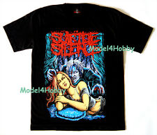 SUICIDE SILENCE T-Shirt Black M L XL DEATHCORE GIRL MONSTER DEVIL VAMPIRE TATTOO