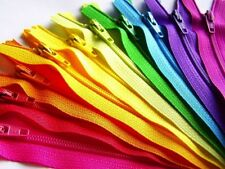 9 inch ZIPPERS New Closed Bottom MANY COLORS Choose 3, 5 or 10