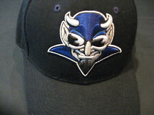 Zephyr Fitted Duke Bluedevils  Cap / Hat  Size 6 7/8 Black with devil  NWT