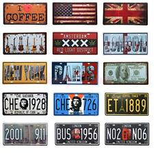 Multi Theme Metal Tin Plaque Pub Decor Tavern Bar Sign Wall Poster Shop Home