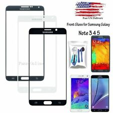 For Samsung Galaxy Note 3 4 5 ATT Outer Screen Glass Lens Replacement +Tools Kit