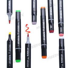 Artist Broad and Brush Nibs Premium Markers Set 36/48/60/72 Copic Sketch Design