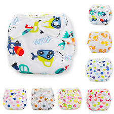 Baby Infant Reusable Washable Cloth Diaper Kids Nappy Cover Adjustable Diapers *