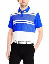 PUMA Golf NA 57048301 Puma Mens Short Sleeve Pattern Block PC Polo