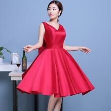 Short Cocktail Homecoming Dresses Formal Ball Evening Party Bridesmaid Prom Gown