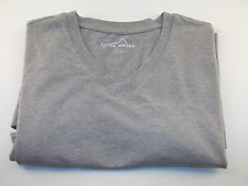 Eddie Bauer V-Neck T-Shirts Red Blue Gray White Black