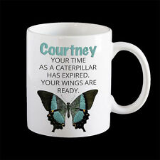 Butterfly Mug, Motivational Mug, Inspirational Mug, Coffee Mug, Graduation Gift