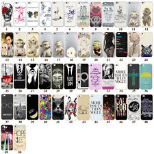 HOT Phone Cases Silicone Pattern Covers Skins For iPhone 6 6S Plus 4 5 5s 5c SE