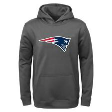 "New England Patriots Youth NFL ""Tackle"" Performance Pullover Hooded Sweatshirt"