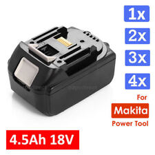 4.5Ah 18V Lithium Ion Heavy Duty Battery for Makita BL1830 BL1815 LXT Black AU