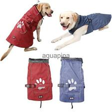 Waterproof Winter Dog Coat Jacket Warm Vest Pet Puppy Clothes Blue/Red S-XXXL